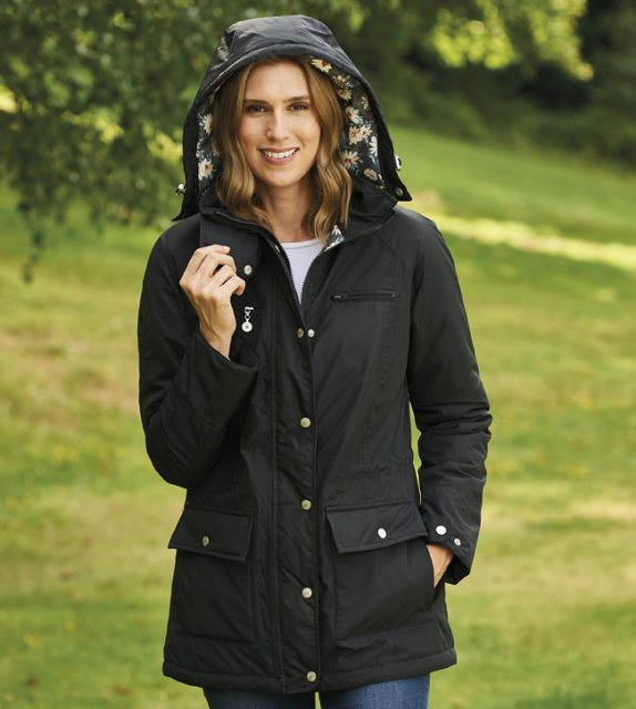 Champion-Outdoor Champion Mayfield Black Ladies Jacket