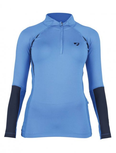 Shires Equestrian Aubrion Newbury Long Sleeve Base Layer-Ladies