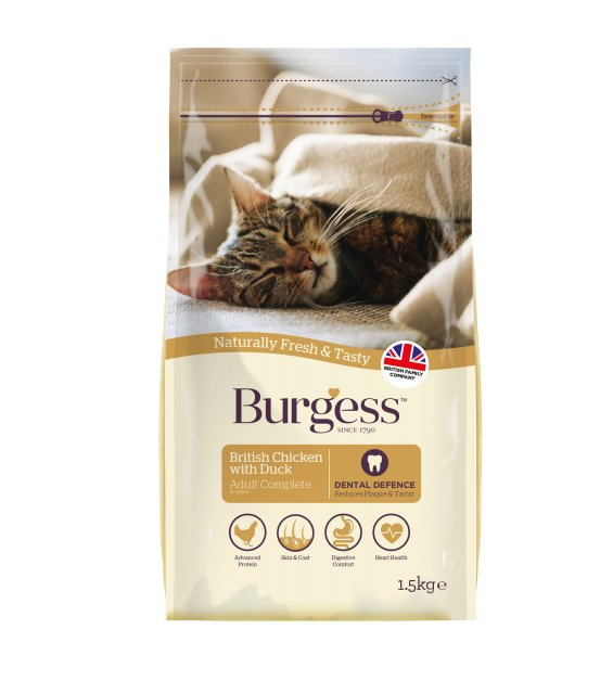 Burgess BURGESS Adult Cat  1.5KG