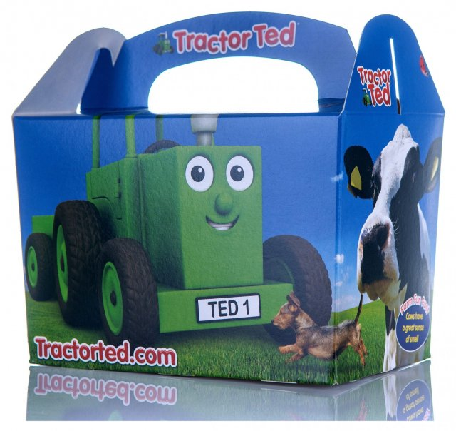 Tractor Ted TRACTOR TED LUNCHBOX Gift Box