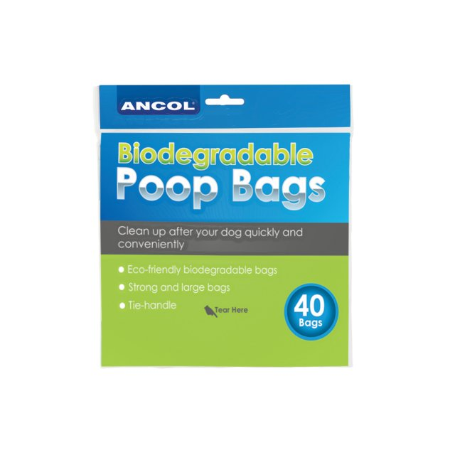 Ancol ANCOL BIODEGRADABLE POOP WASTE BAGS
