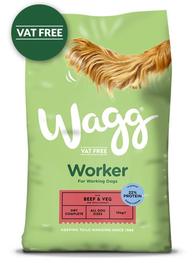 Wagg Worker Dog Food 12KG