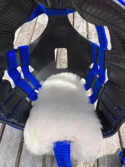 The Ultimate Grazing Muzzle ULTIMATE MUZZLE WOOL CHIN PROTECTOR Only