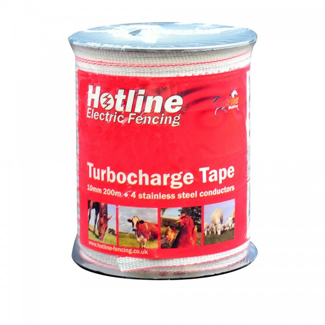 Hotline Electric Fencing HOTLINE TC41 TURBO TAPE 10MM