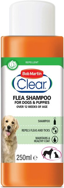 Bob Martin BOB MARTIN FLEA SHAMPOO DOGS & PUPPIES       250ML