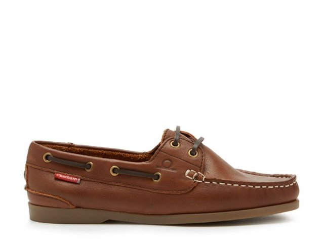 Chatham Chatham Willow  Leather Boat Shoes Brown