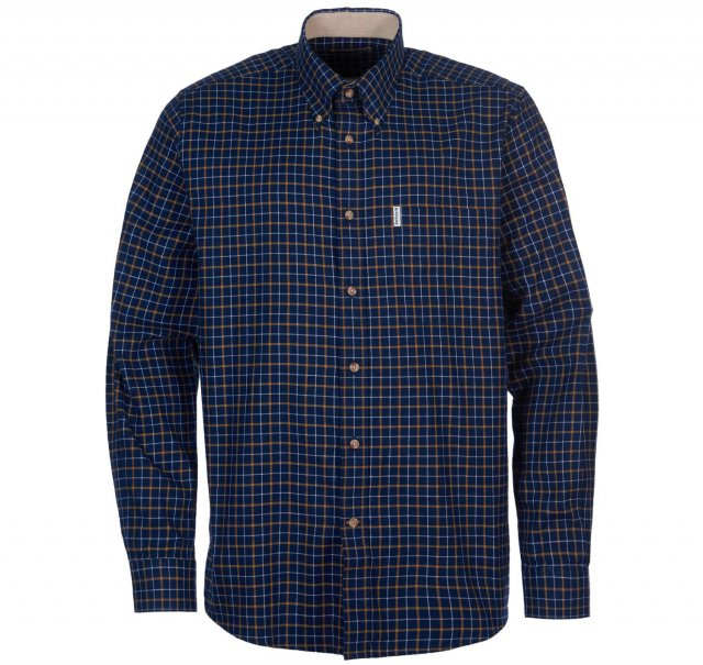 Barbour BARBOUR BANK SHIRT Navy