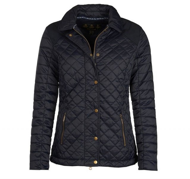 Barbour BARBOUR QUAIL QUILT JACKET NAVY