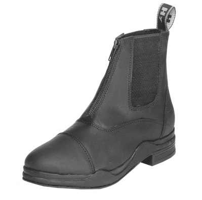 Hyland HyLAND Wax Leather Zip Boot