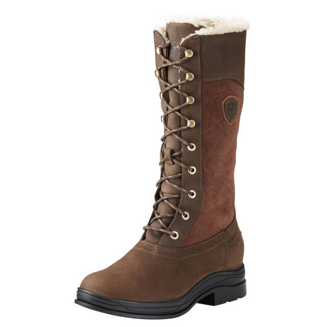 Ariat ARIAT LADIES WYTHBURN FUR H20 INSULATED BOOTS JAVA