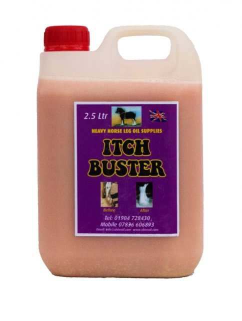 Heavy Horse Itch Buster Oil 2.5ltr