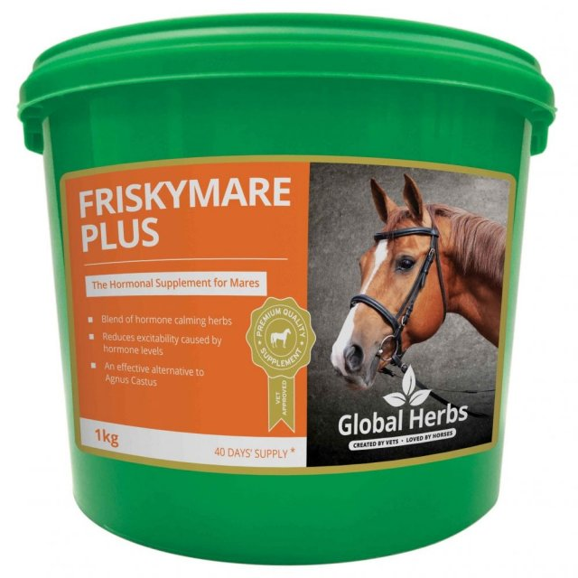 Global Herbs GLOBAL HERBS FRISKY MARE Plus 1KG