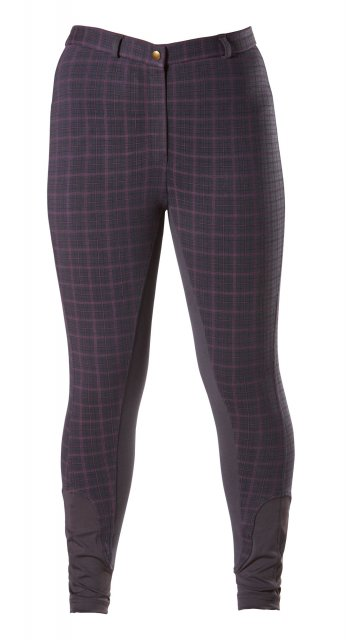 Firefoot Firefoot Farsley Breeches in Navy Check adults