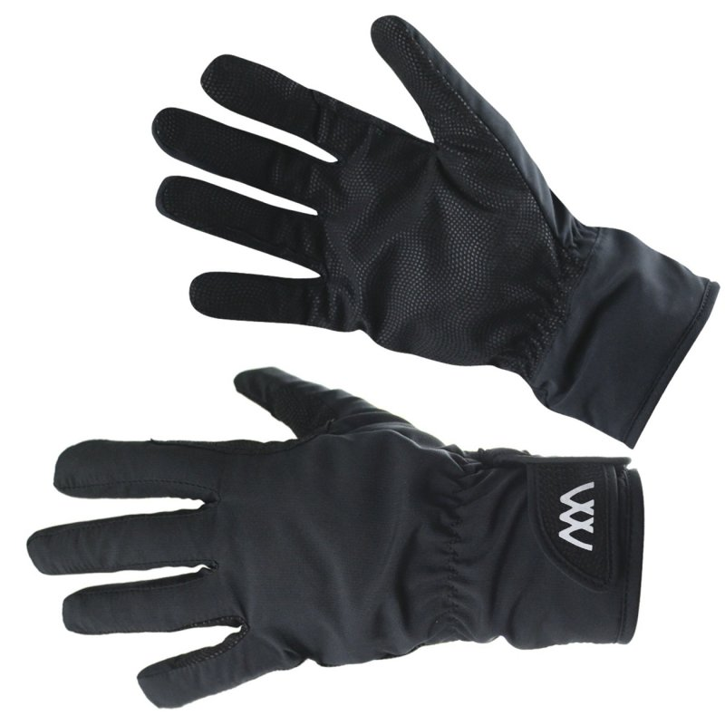 Woof Waterproof Riding Gloves Black