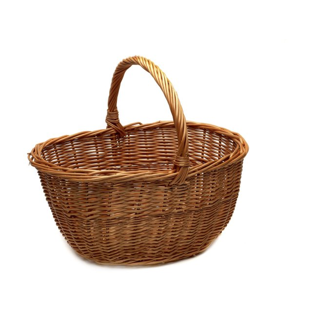 Supreme Products Supreme Traditional Wicker Basket